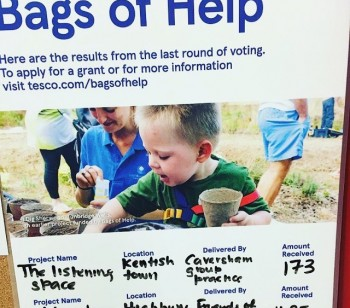 Bags of Help for Ambler's outdoor learning