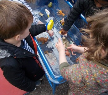 New water trays thanks to The TOY Project