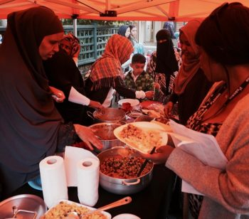Ambler family enjoy homemade feast for Eid al-Fitr holiday